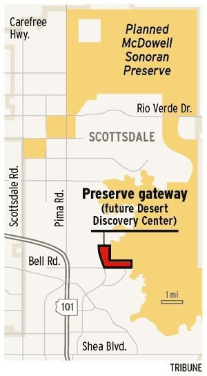 Input sought on educational venue at preserve