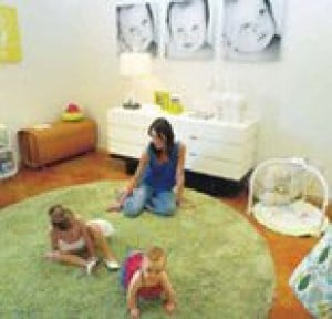 Baby's room trends toward more mod, less gender-specific