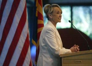 Brewer makes tax pitch to E.V. leaders