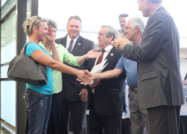Phoenix-Mesa Gateway Airport's 5 millionth passenger