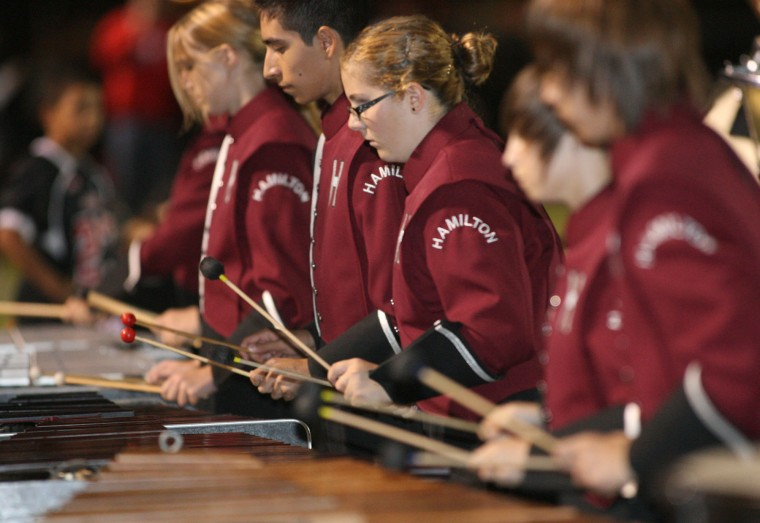 Hamilton High School marching band
