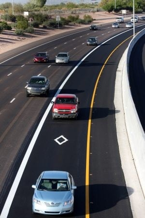 Loop 101 carpool lanes open 