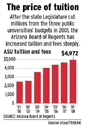ASU's Crow seeking tuition hike for next year
