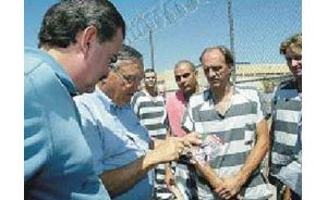 Mexican VIP tours Tent City Jail