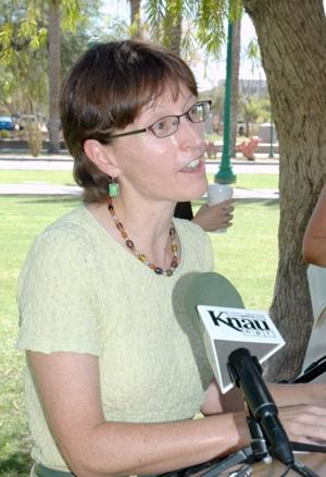 Sierra Club lobbyist Sandy Bahr
