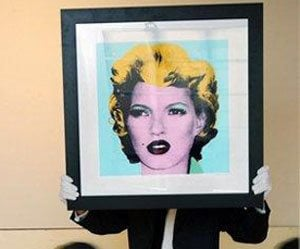 Kate Moss portrait sells for $191,000 