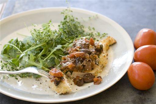 Food Deadline Chicken Parmesan