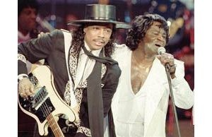 Funk singer Rick James dies in Los Angeles