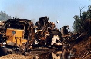 Kansas train crash