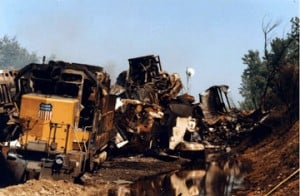 Kansas train crash