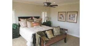 Traditional bedrooms transformed into getaway spaces