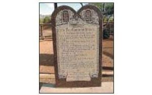 State's Ten Commandments likely spared