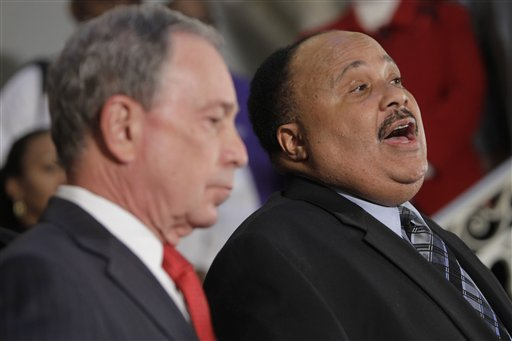 Michael Bloomberg, Martin Luther King III
