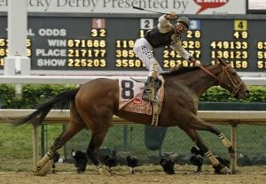 Mine That Bird pulls off Kentucky Derby upset