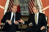 Bush scolds Russia for political crackdown