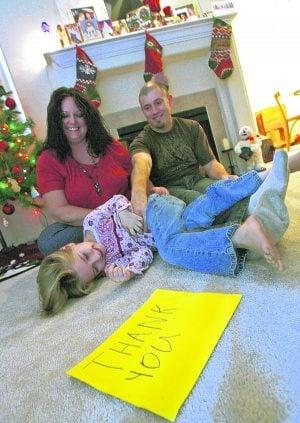 Trib readers pass spirit of Christmas to family