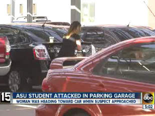 ASU student attacked in Tempe parking garage