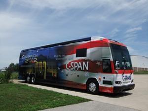 C-Span Campaign Bus 2012