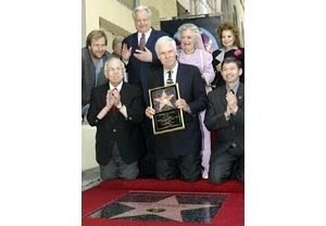 Ted Turner receives star on Walk of Fame