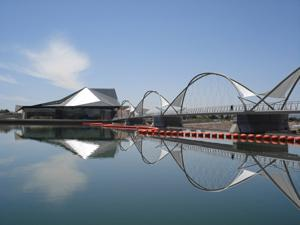 Tempe Town Lake bridge rendering