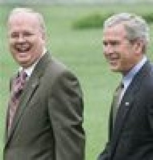 Rove says he wasn't involved in CIA leak