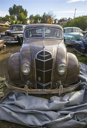 1935 DeSoto Airstream Sedan chuck shubb