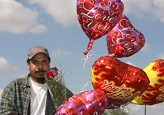 In focus: On Valentine's Day, there's a message behind bouquet