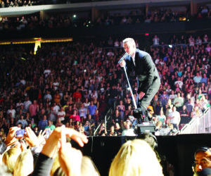 <p>Justin Timberlake performs at Jobing.com Arena in Glendale on Saturday, Aug. 9, 2014.</p>