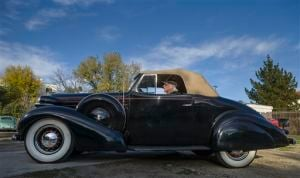 Garvin Kotzin 1936 Oldsmobile