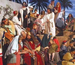 Mesa Mormon temple prepares for Easter pageant