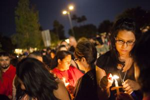 Vigil for Brandon Mendoza
