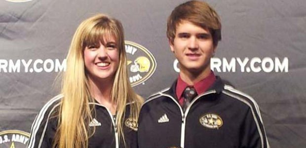 2 Perry High seniors selected  to All-American marching band