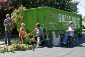 Mesa green waste program