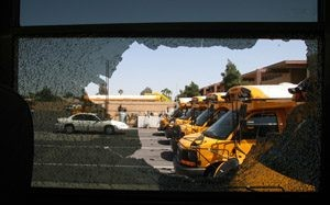 Vandals damage 60 to 70 Scottsdale school buses