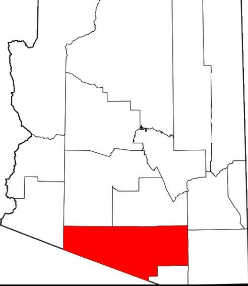 Baja Arizona boundaries