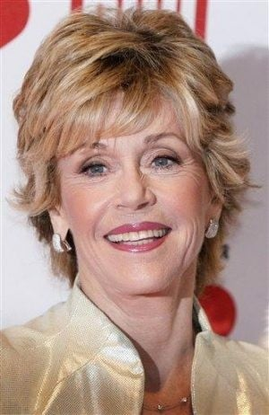Jane Fonda uses vulgar slang on `Today'