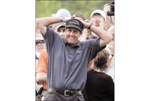 Mickelson the man to beat at the Masters