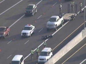 Motorcyclist dies in accident on Loop 101