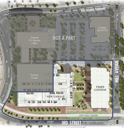 Tempe Gateway site plan