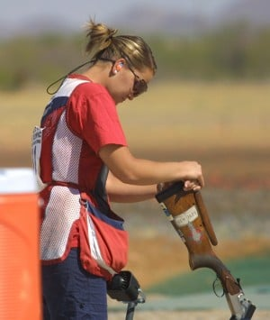 Olympic trapshooting qualiifying