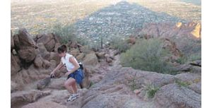The Valley is full of desert trails for adventures