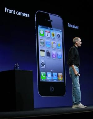 Steve Jobs and the iPhone 4
