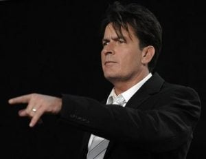 Charlie Sheen's daughters unhurt in LA car crash