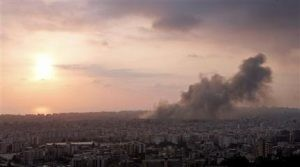 Israel steps up assault on Beirut suburbs