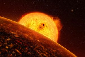 First rocky extrasolar planet discovered