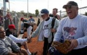 Valley seniors take their cuts at Scottsdale ballfield