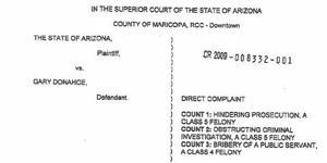 Thomas files criminal complaint against judge