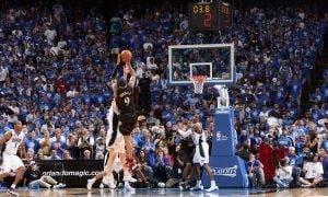 Iguodala's jumper helps Sixers stun Magic