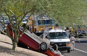 Freeway crash
