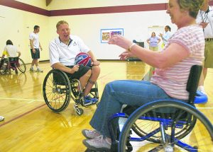 Paralympians offer lessons in life, competition